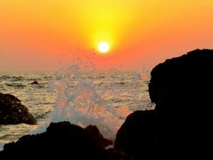 Sunset Goa, Arabian Sea
